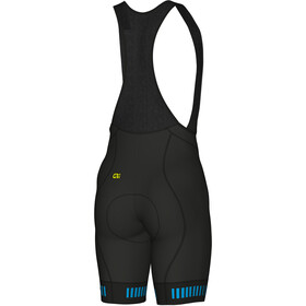Alé Cycling Graphics PRR Strada Bib Shorts Herr svart/turkos